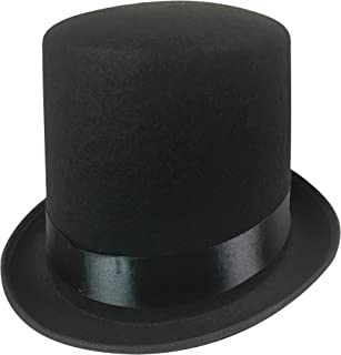 Black Top Hat - Adult Size Large to XLarge