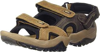 Woodland Men's GD 1033111Y15 Camel Sandal-9 UK (43 EU) (10 US) (Leather)