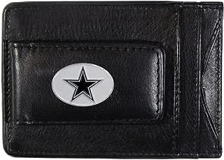 Siskiyou NFL Leather Money Clip Cardholder