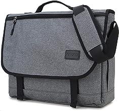 Messenger Bag for Men,RAVUO Water Resistant Lightweight Satchel 15.6 Inch Laptop Bags Shoulder Bookbag