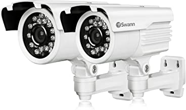 Swann COPRO-760PK2-US PRO Series Super Wide-Angle 700TVL Security Camera with 98-Feet Night Vision (White)