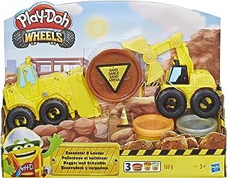 Play-Doh - Excavadora Y Cargadora (Hasbro E4294EU4)
