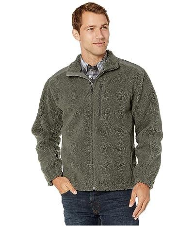 Ariat El Capitan Pile Fleece Full Zip Sweater (Gunmetal) Men