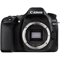 Canon Digital SLR Camera Body EOS 80D with 24.2 Megapixel