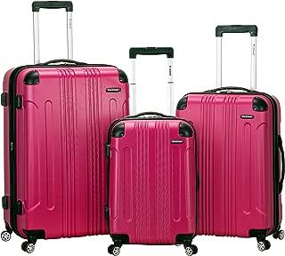 Luggage 3 Piece Sonic Upright Set, Magenta, One Size