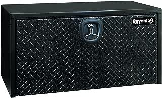 Buyers Products Black Steel Underbody Truck Box w/ Aluminum Door (18X18X24 Inch)