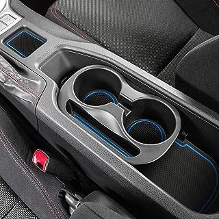 Auovo Anti-dust Door Mats for 2019 2018 2017 2016 2015 2014 2013 Subaru BRZ Toyota 86 Scion FR-S Door Pocket Liners Cup Pads Console Mats Interior Accessories (8 pcs, Blue)