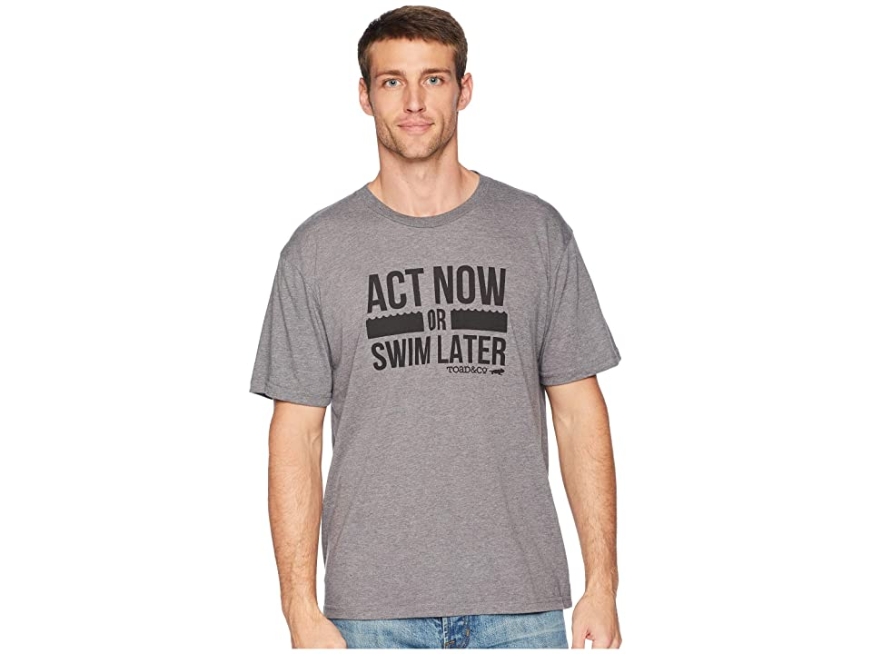 Toad&Co Act Now Short Sleeve Tee (Heather Grey) Men