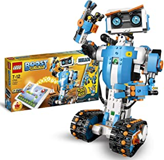 LEGO 17101 Boost Caja de Herramientas Creativas, Maqueta 5en1, Juguete de Construcción con App de Programación