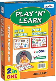 Creative 342 Educational Toys & Games 3 Years & Above,Multi color (0342)