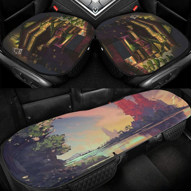 Spiritedaway Three-Piece Set of Car Silk Cushion Three-D Today's only Ice Austin Mall 3D