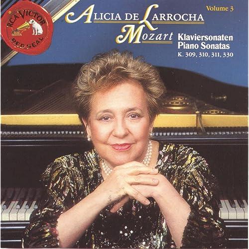 Mozart Klaviersonaten: Piano Sonatas K309, 310, 311, 330 by Alicia De Larrocha on Amazon Music - Amazon.com