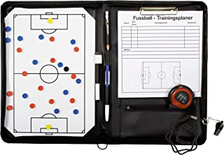 Carpeta Táctica Plegable para Entrenamiento de Fútbol con Accesorios