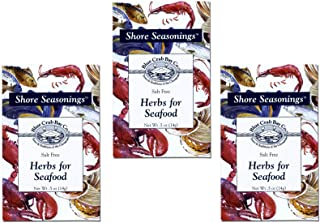 Blue Crab Bay Herbs for Seafood Seasoning Blend (Pack of 3)
