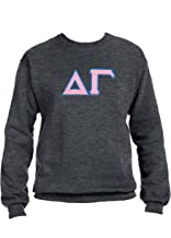 Delta Gamma Sweatshirt with Greek Letters