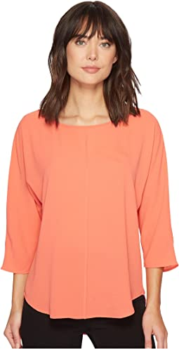 Vince Camuto - Elbow Sleeve Chiffon Seam Blouse