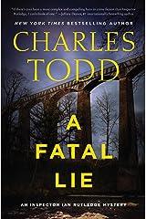 A Fatal Lie: A Novel (Inspector Ian Rutledge Mysteries Book 23) Kindle Edition