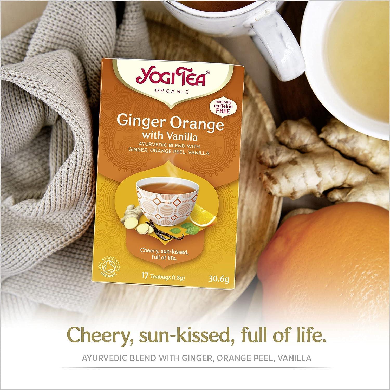 Trà Hữu Cơ Yogi Tea Organic 17 Tea Bags