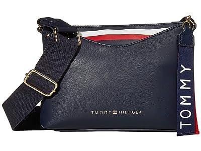 Tommy Hilfiger Walker Crossbody (Tommy Navy) Cross Body Handbags