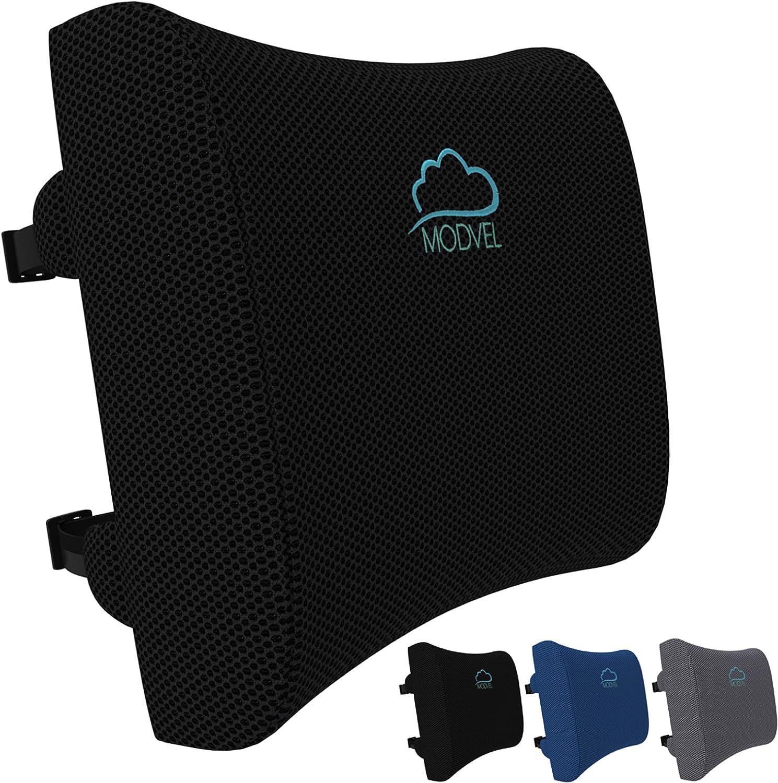 MODVEL Lumbar Support Pillow for Office Chair Free Shipping Cheap Bargain Gift discount Desk Memory - Foam