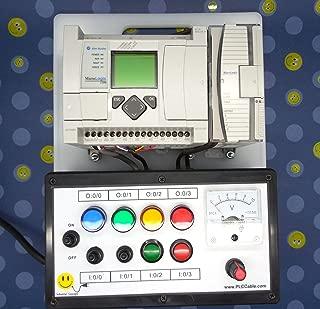 ALLEN BRADLEY ANALOG MICROLOGIX 1100 PLC TRAINER ~ PLC TRAINING STARTER KIT