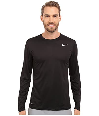Nike Legend 2.0 Long Sleeve Tee (Black/Black/Matte Silver) Men