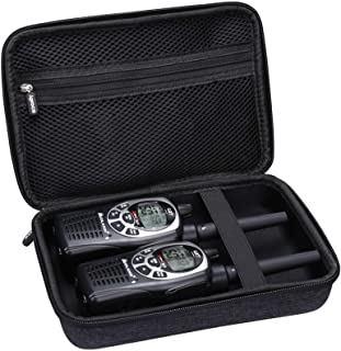 Aproca Hard Carry Travel Case Compatible with Midland GXT1000VP4 Two-Way Radio