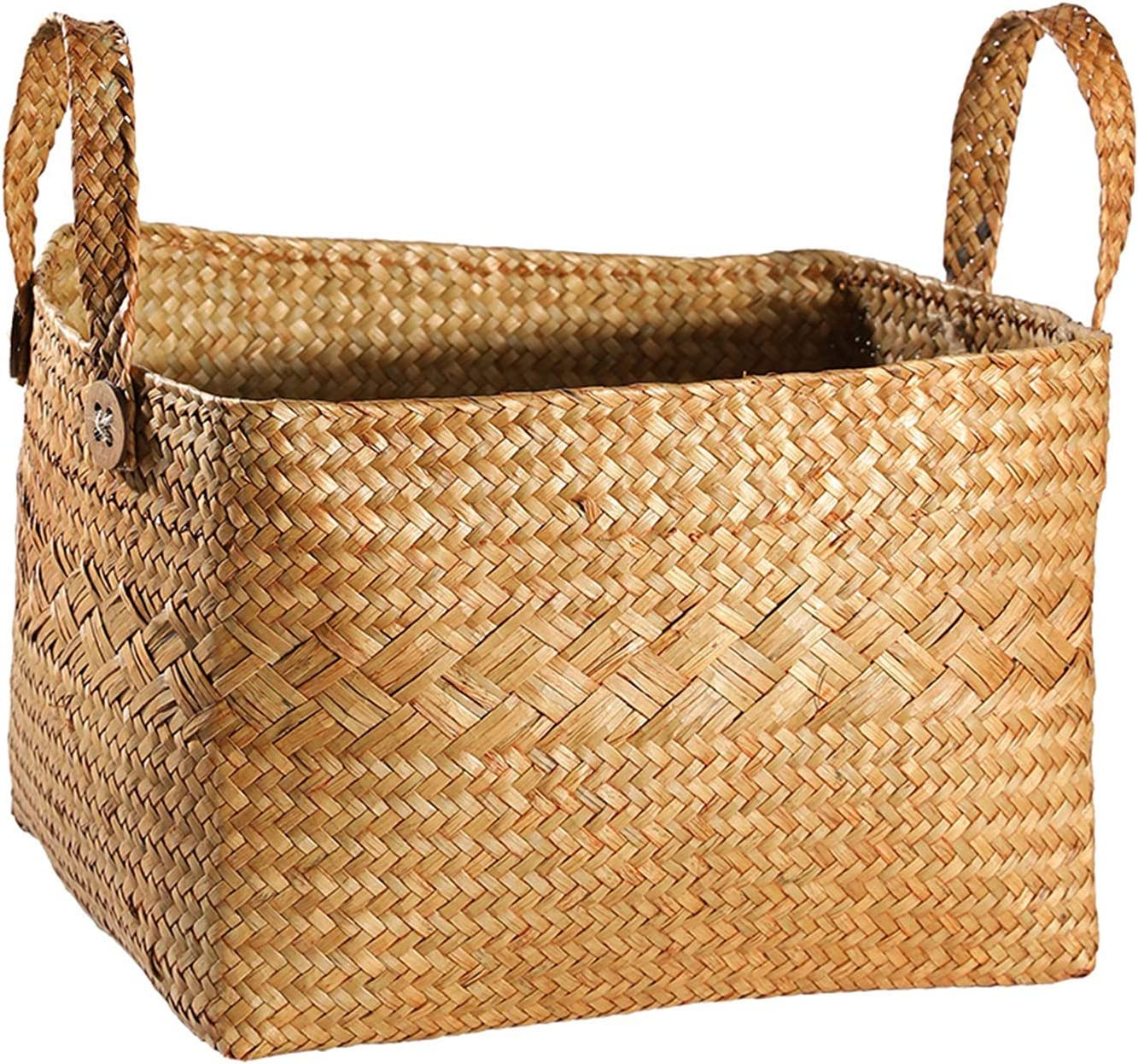 Electric oven Free shipping anywhere in the nation Woven Basket Houston Mall for Plant Storage Pot Laundry