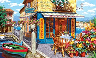 """Puzzles for Adults 1000 Piece Jigsaw Puzzles 1000 Pieces for Adults Kids Large Puzzle Game Toys Gift Dock Bar 27.2"""" x 20.1""""…"""
