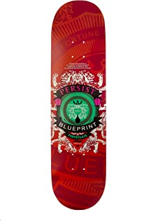 Blueprint Skateboards Courage Color Deck (Red, 8.25-Inch)