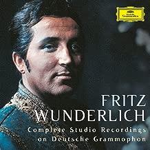 Wunderlich - Complete Studio Recordings on Deutsche Grammophon