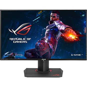 """ASUS ROG Swift PG27AQ 27"""" Gaming Monitor 4K/UHD (3840x2160) IPS 4ms G-SYNC Eye Care with DP and HDMI Ports"""