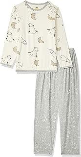 Baa Baa Sheepz Pyjamas Set, Yellow/grey, 5-6T