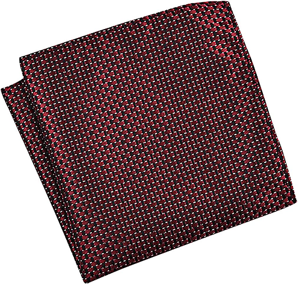 Celino Men Formal Stylish Acetate Various Geo Patterns Square Handkerchiefs