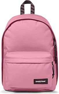Eastpak Out of Office Sac à dos, 44 cm, 27 L, Rose (Blakout Stripe Earth)