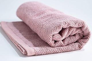 kainoo バスタオル Nora 60cm×120cm 日本製 今治 抗菌 無地 タオル (ピンク)