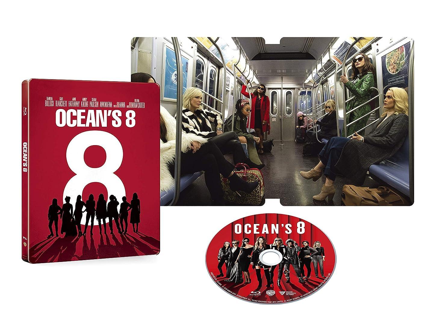 ロースト悲観的飽和するオーシャンズ8 ブルーレイ スチールブック仕様 (限定生産) [Blu-ray]