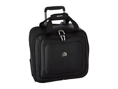 Delsey Cruise Lite Softside 2-Wheel Under-Seater (Black) Luggage