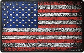 This Well Defend American Flag Sign 10