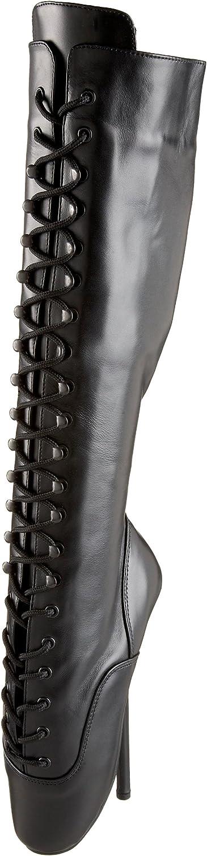 Devious BALLET-2020 Blk Leather UK 12 (EU 45)