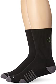 Unisex 2 Pack Crew Core Performance Socks