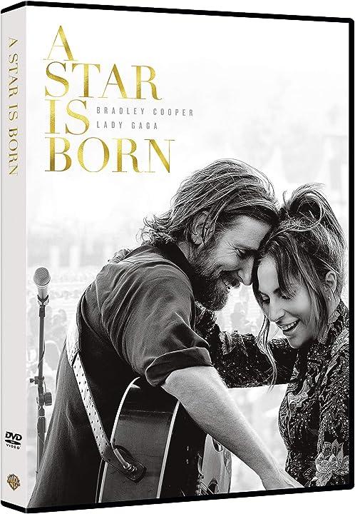 A star is born -  bradley cooper & lady gaga - dvd - film - warner bros B07JQ7DKB4