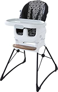 Fisher-Price Jonathan Adler Deluxe High Chair, Black/White