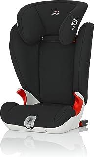 BritaxRömerKIDFIX SL高支撑助推器座椅,2/3岁年龄段(15-36公斤),系列2017,宇宙黑