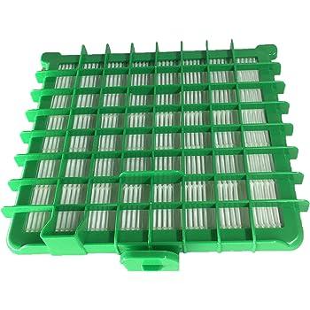 Filtro HEPA para Rowenta ca. 17 x 15 x 4 cm verde: Amazon.es: Hogar