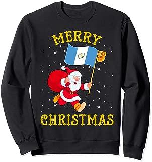 Santa Guatemala Merry Christmas Xmas Sweatshirt