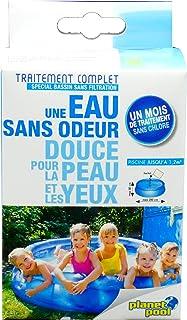 EDENEA - Traitement Complet Piscine Enfant Oxygène Actif (Bassin < 1,2 m3) - Sachets Pré Dosés - Dissolution Immediate - S...