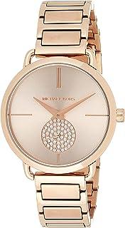 Michael Kors Women's Portia Three-Hand Stainless Steel Watch