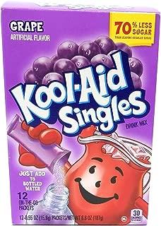 Kool-Aid Singles Grape Soft Drink Mix, 0.55 OZ