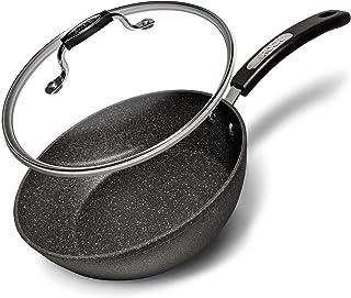 "Starfrit Saute Pan, 9.5"" w/ lid"